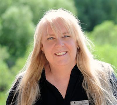 NINA CHARTRAND • finance director