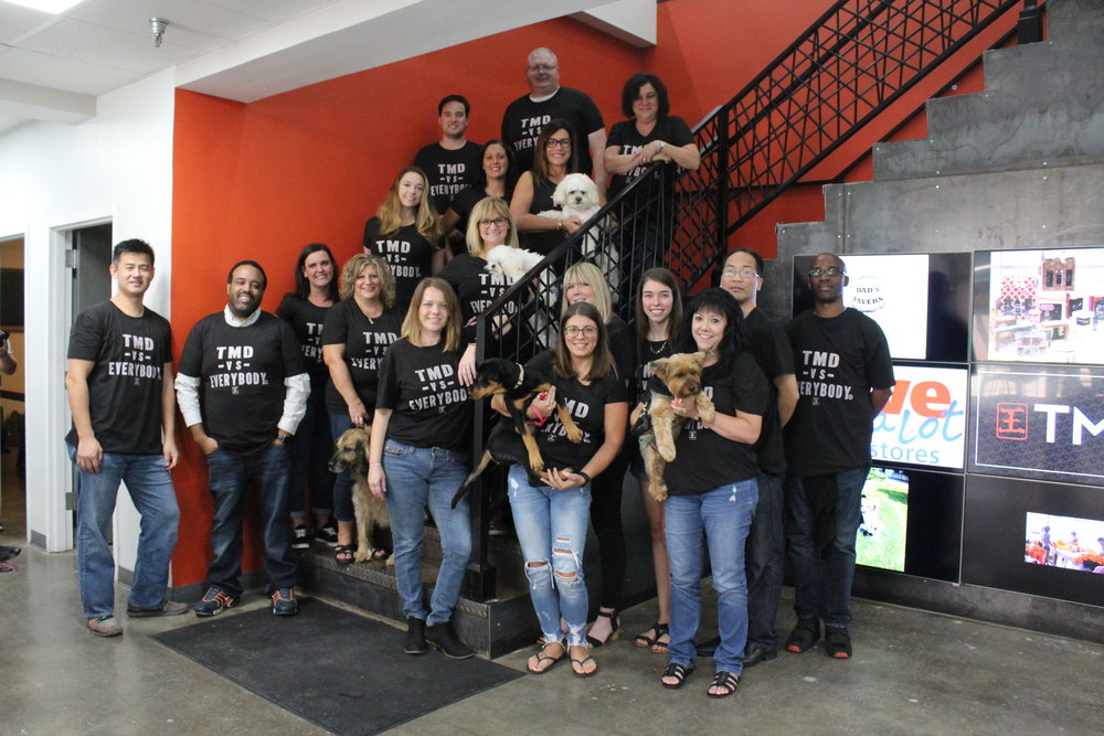 Teamwork Makes a Difference - TMD Holdings is looking innovative, solution focused individuals to join our fast-paced, dog-loving, award-winning team. Open positions are below. Apply today!