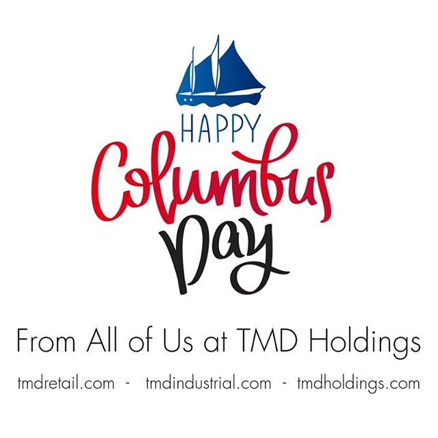 Happy Columbus Day! #columbusday #retail #industry #pittsburgh #manufacturing #sourcing #global