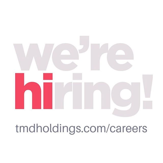Hiring a Graphic Designer, Sr. Accountant and Staff Accountant! Come join our dynamic team! tmdholdings.com/careers  #graphicdesign #accountant #global #tmdholdings