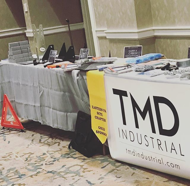 TMD Industrial was proud to be a part of Eastern PA SCTE Chapter. Great meeting everyone!  #cabletec #industrial #supplychain #global #manufacturing #problemsolvers