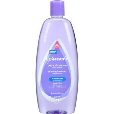 johnson's lavender no tears baby wash - A calming wash for sensitive baby skin