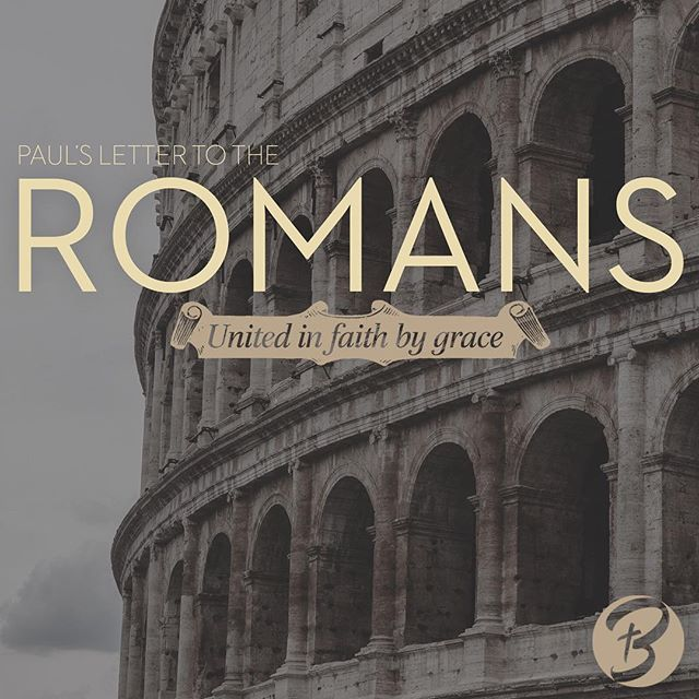 """Come join us Sunday mornings at 9:30am @belgradecommunitychurch (aka the Big White Steeple on Broadway) as we journey through Paul's letter to the Church in Rome with """"Romans: United in faith by grace"""""""