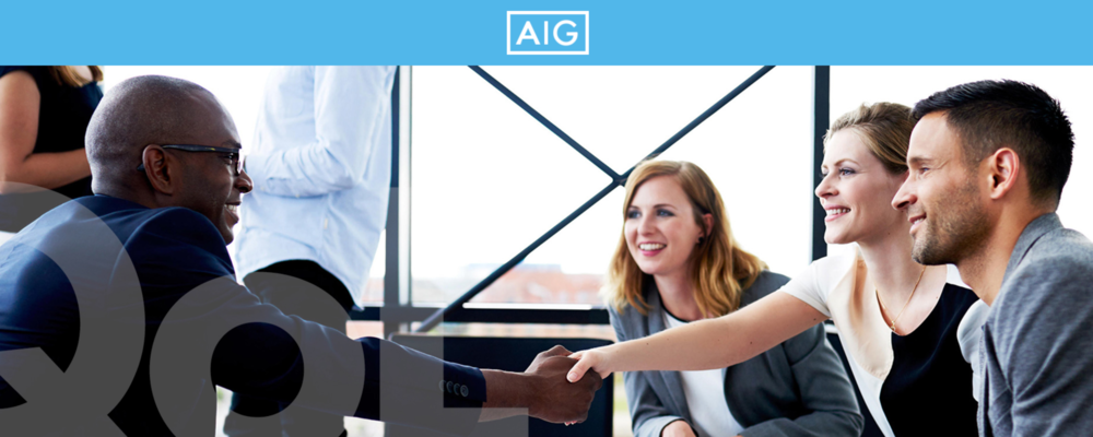 AIG Quality of Life…Insurance® - Learn. Train. Promote Sell: A compelling life insurance product suite with living benefits automatically included at no extra charge with every life policy. Strong compensation, bonus program and support are just the beginning of the story at AIG Partners Group