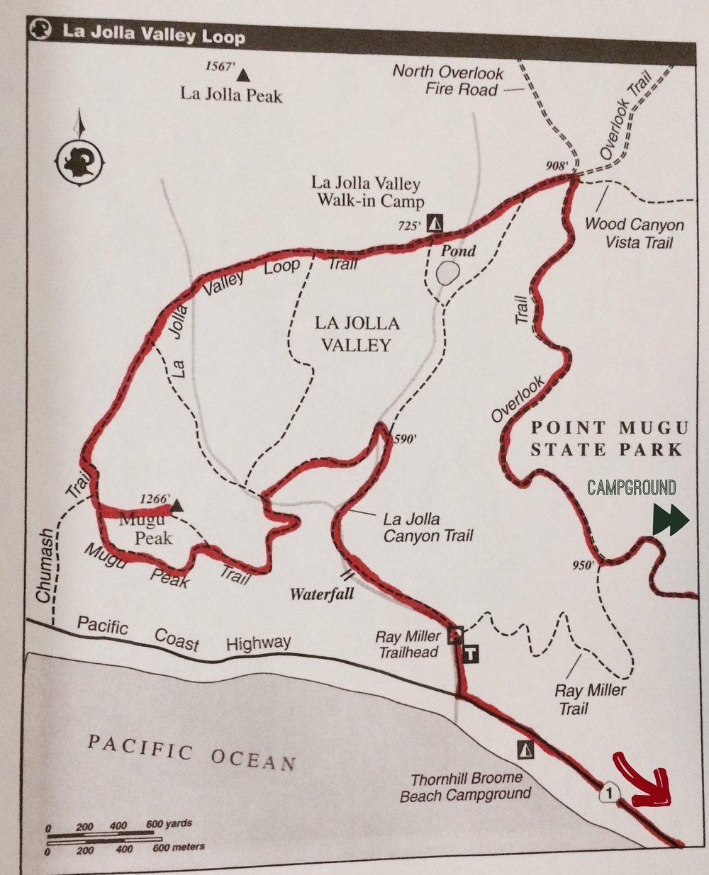 La Jolla Valley Loop Hike