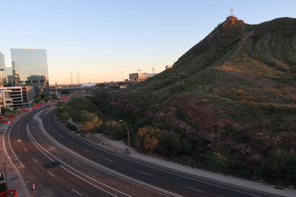 The view from AC Hotels in Tempe