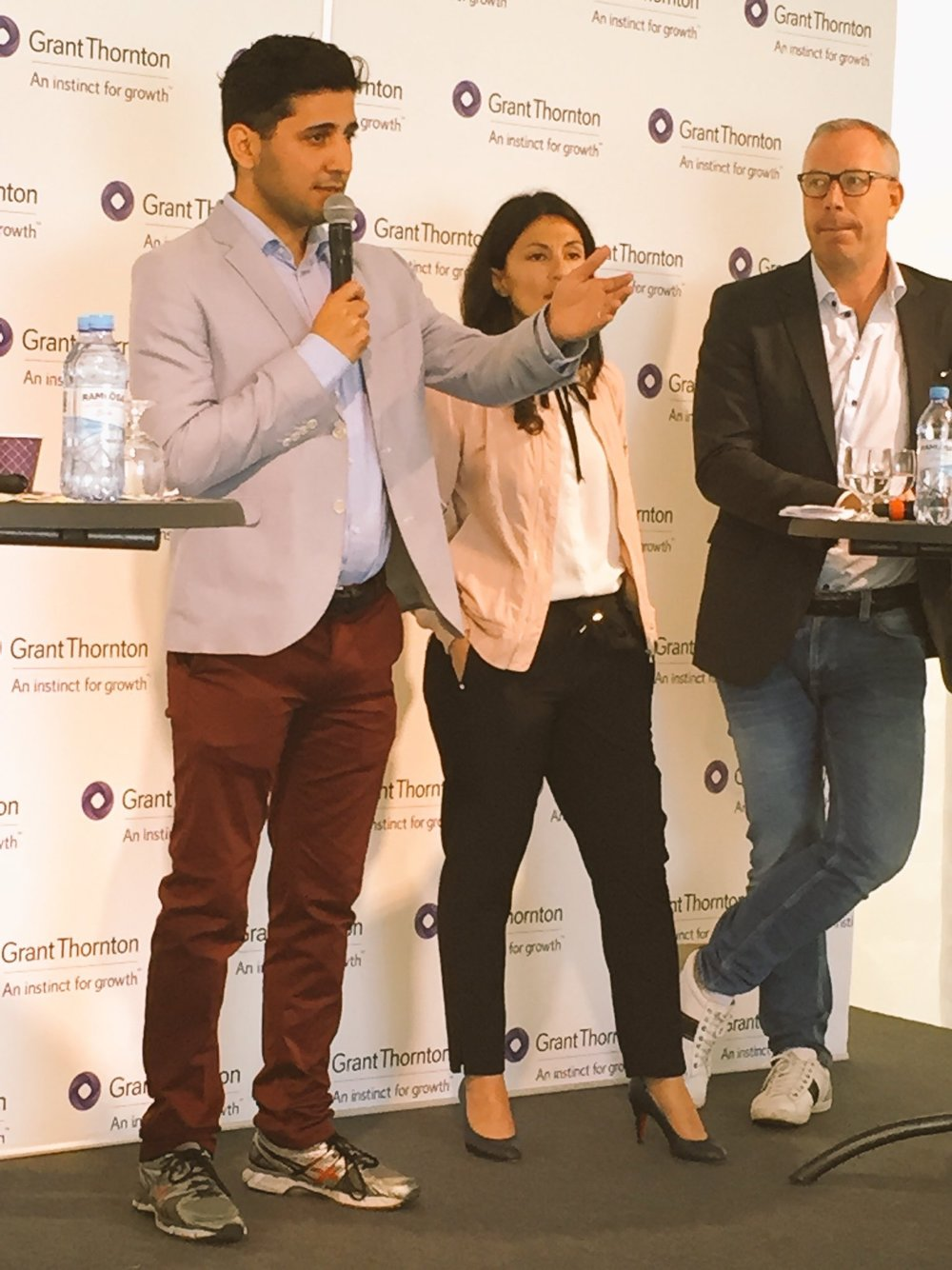 Panel Med Grant Thornton kring integration i Almedalen