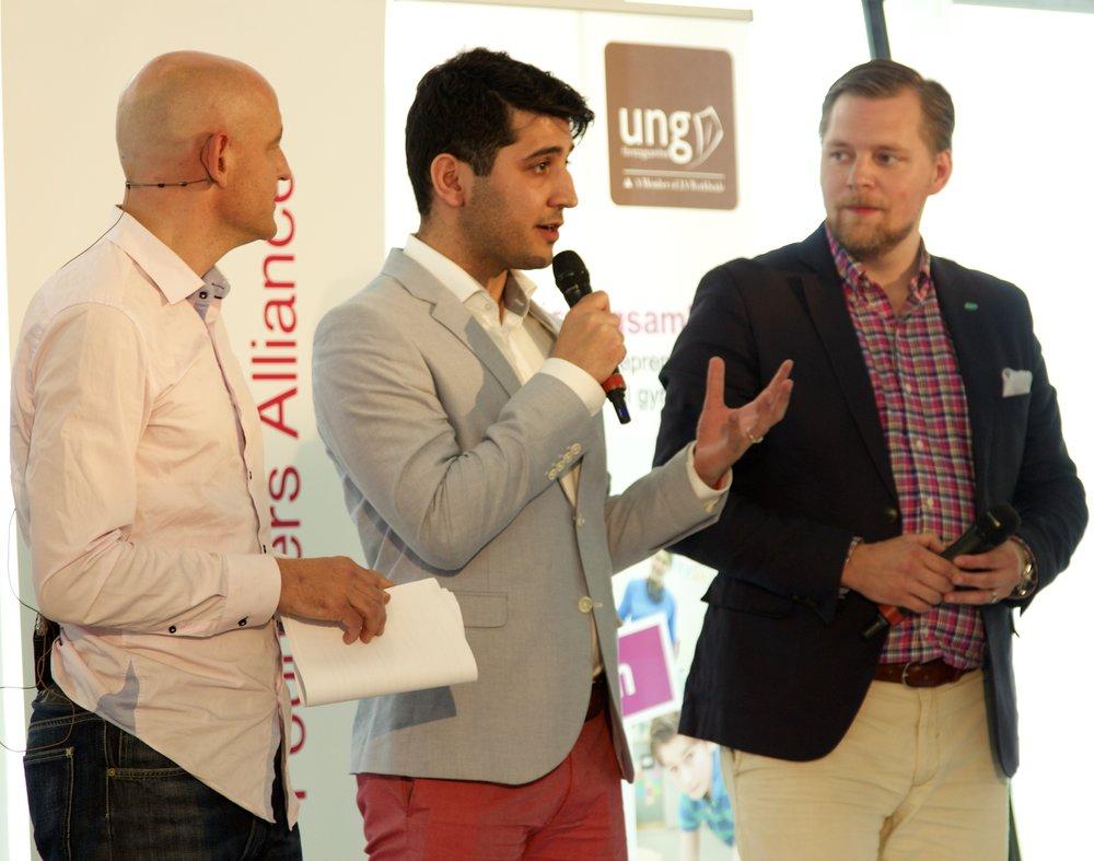 Paneldeltagande med Founders Alliance Företagarna mfl i Almedalen