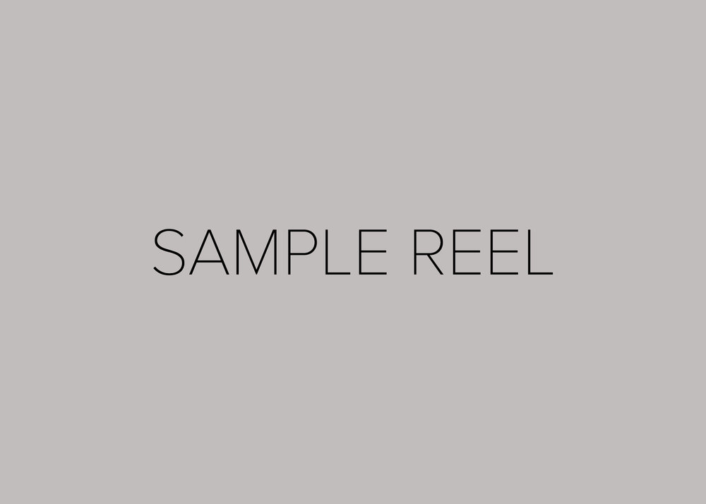 Copy of Cinematography Reel