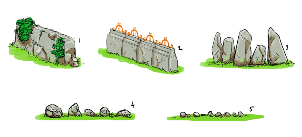 Early concept   Figuring out a way to make a divider in-game