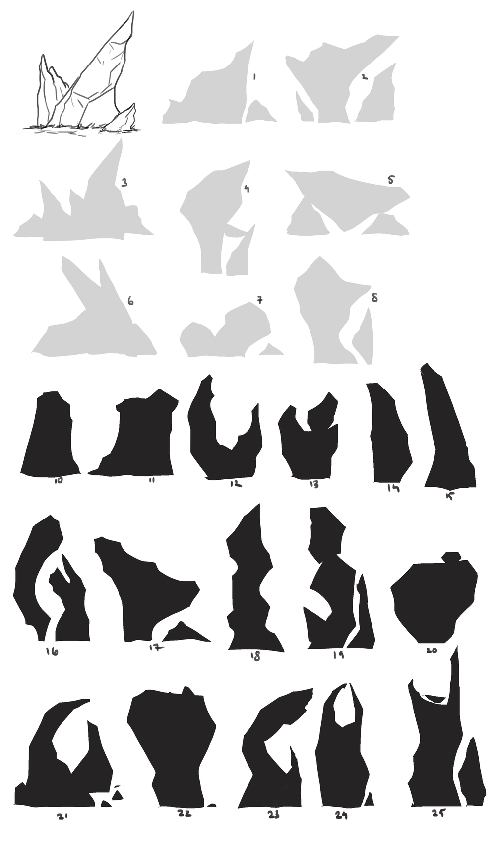 Early concept   Different types of rock formation