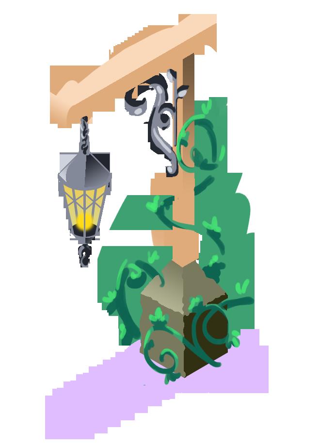 Finished asset   Lanterns in-game