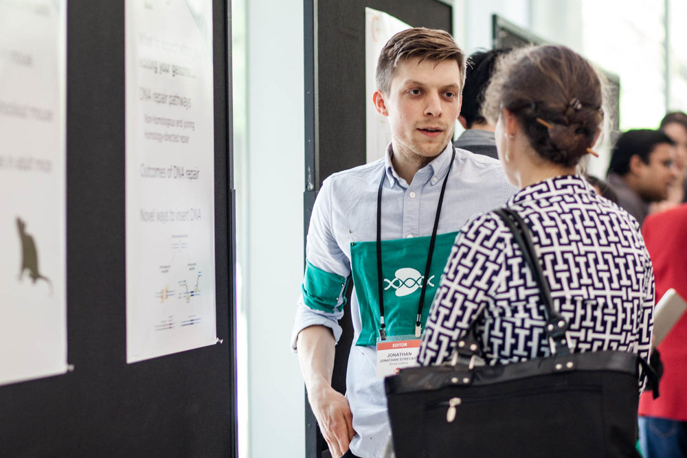 Get advice - Get one-on-one advice about your experiments from experienced CRISPR users during our breakout sessions
