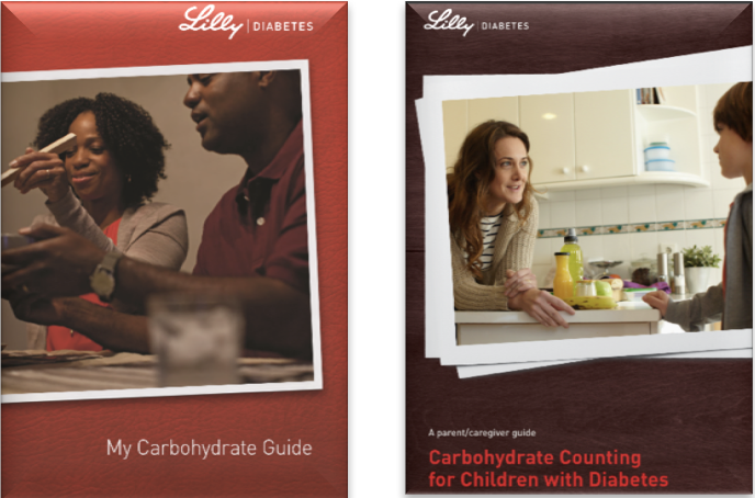 Figure 13   Eli Lilly's Carbohydrate Counting Guides for Diabetes and Diabetic Caregivers .(Constance A, 2011; Spiegel G, 2015)