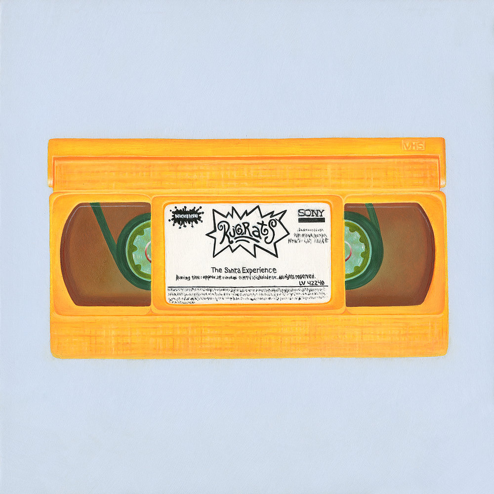 MILLENNIAL ICONS: Orange VHS