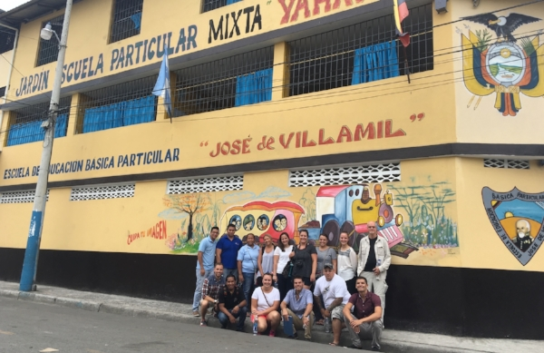 Educational mission to Guasmo Sur, 2018