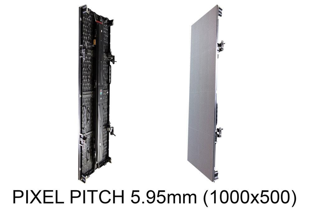 PIXEL PITCH 5.95mm (1000x500) -