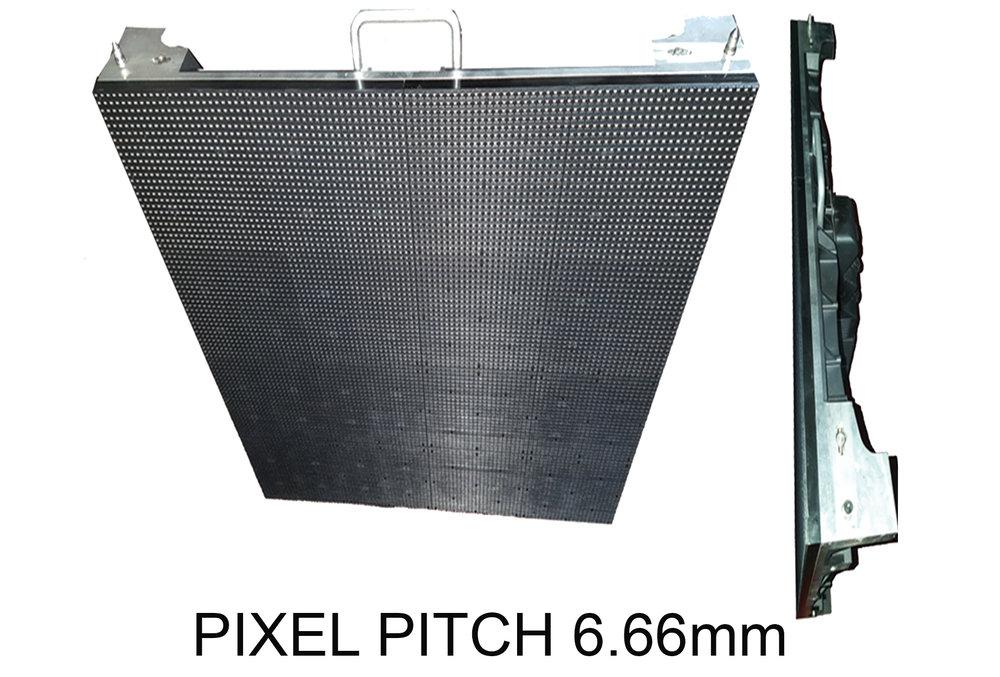 PIXEL PITCH 6.66mm -