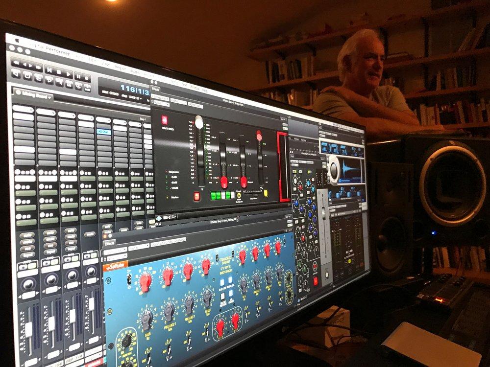 IU - Larry Home Studio - Mixing TV Pilot - IMG_0557.JPG
