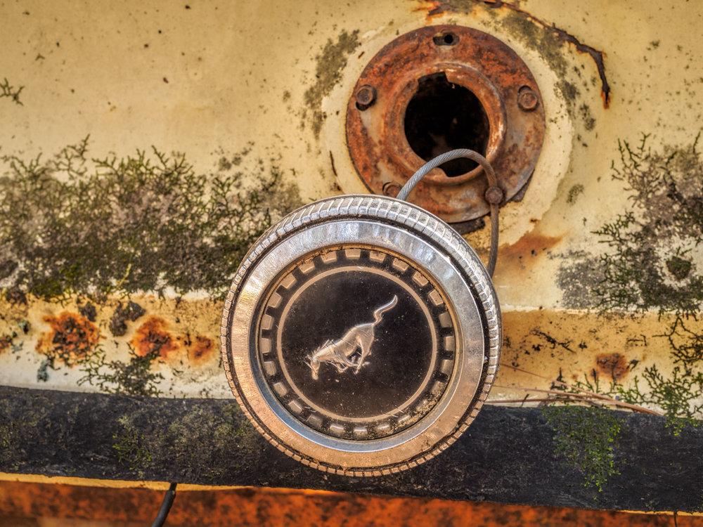 Mercury Gas Tank