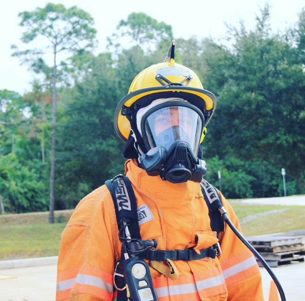 Firefighter paramedic Dylan Hood