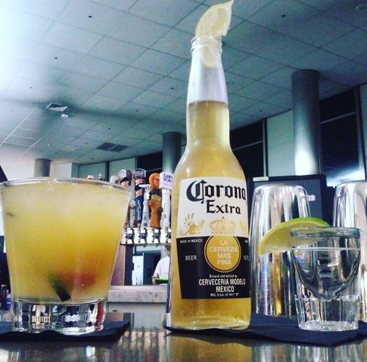 Sometimes all you need is a cold corona. - LAX