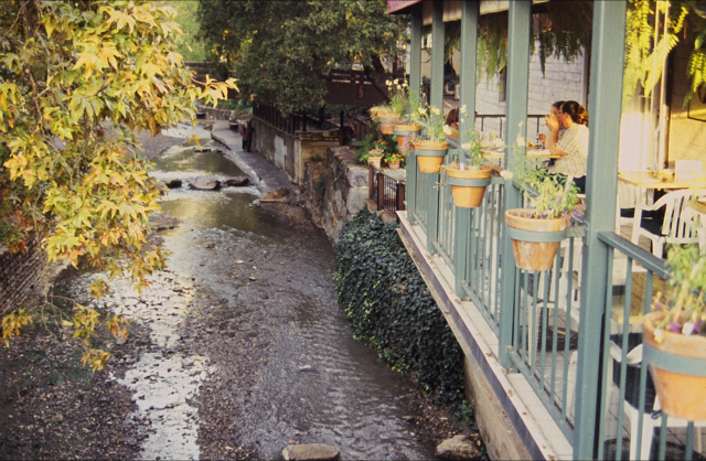 Creekside restaurant, San Luis Obispo, California