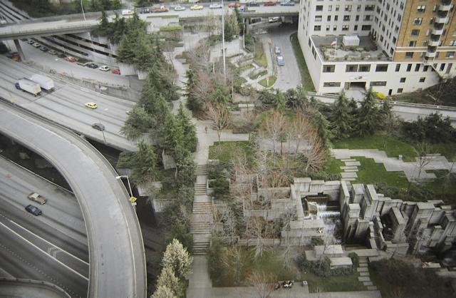 Freeway Park, Seattle, Washington