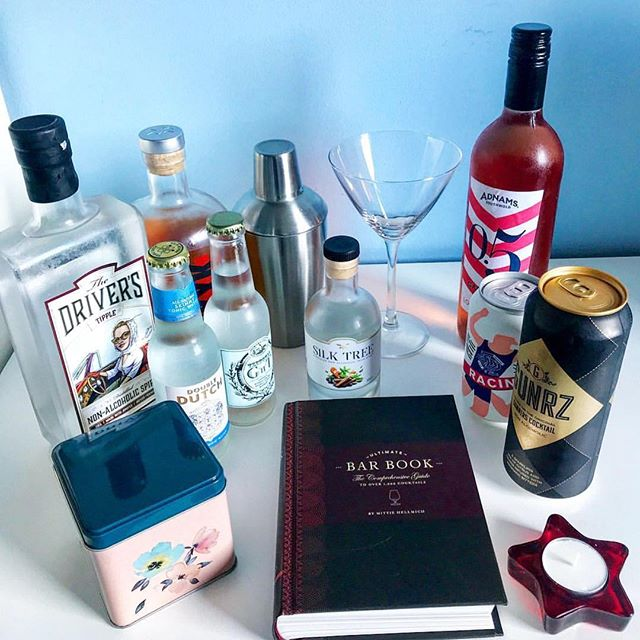 We're most pleased to be part of the basket full of non-alcoholic, low and no alcohol drinks selected by @little.runner.mel all available from the excellent @wisebartenderuk and we can't wait to hear what she thinks of The Driver's Tipple! Cheers! . . . #thedriverstipple #healthylifestyle #mindfuldrinking #soberlife #teetotal sugarfree #veganfriendly #zerocalories #glutenfree #nonalcoholic #lowalcohol #ww #slimmingworld #review