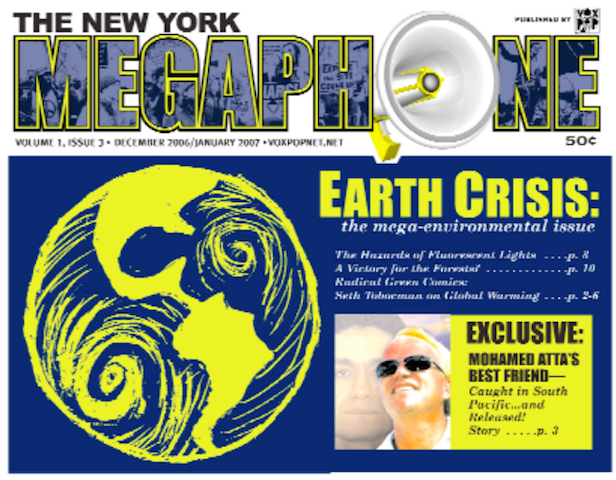 - Reporting on the Earth Crisis, in past issues.