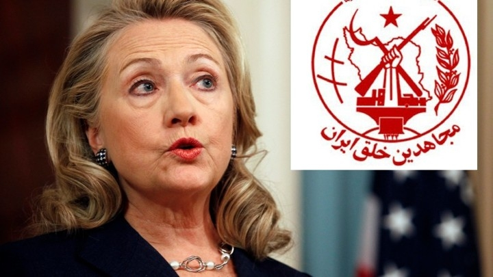 Hillary Helps terrorists - According to The Atlantic, and NY Times, the MEK were taken off the terrorist watch list by Clinton's State Department after a massive lobbying campaign in DC.