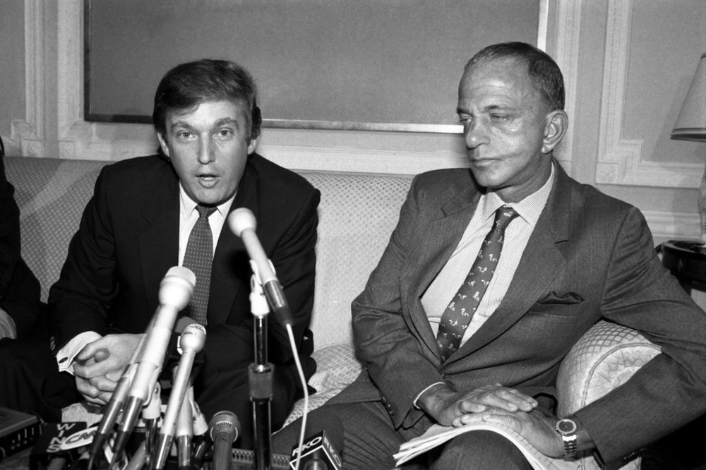Young Don and Roy Cohn, his Mob Lawyer.