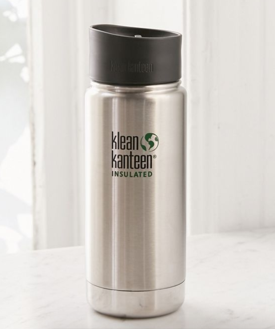 Klean Kanteen Insulated Bottle - I stuck to a strict no bottle, no cold brew rule this past summer. This guy can be used for both water and coffee and I really see no need for a straw. We have lips for that.