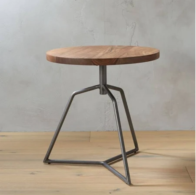 Dot Side Table - This sturdy little stool serves triple duty as a coffee table, side table or extra place for guests to sit. Made from acacia wood, it feels at home with a variety of home decor styles and is perfect for small spaces.