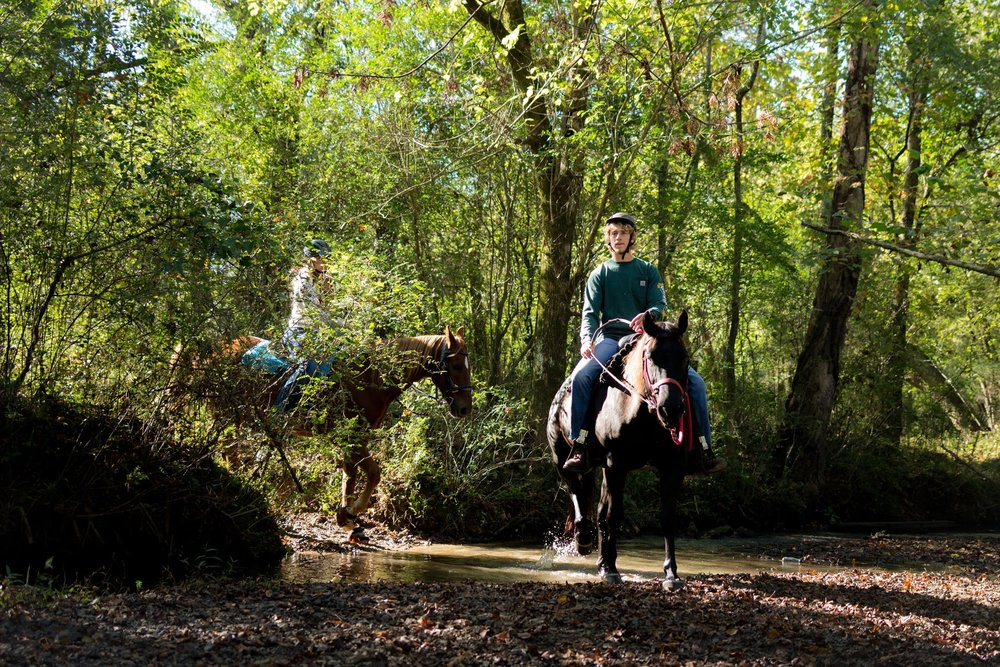 Horseback riding at Hidden Hills