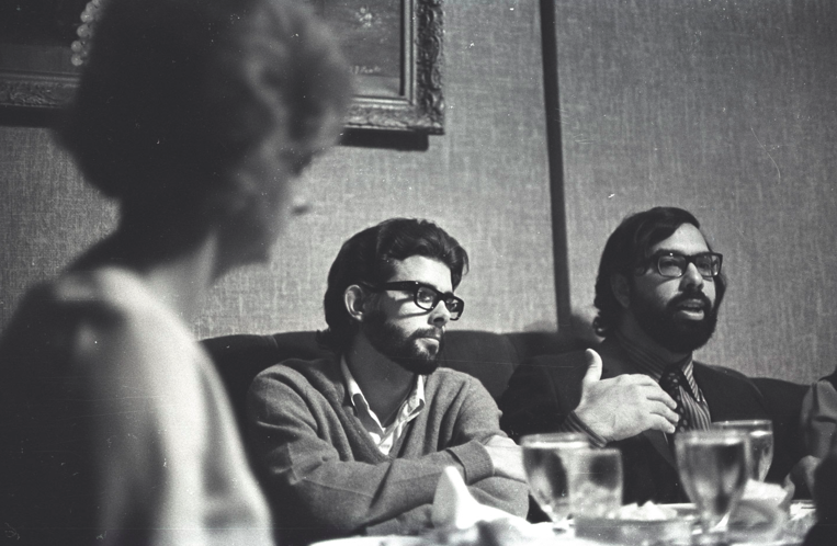 George Lucas and Francis Coppola, 1970