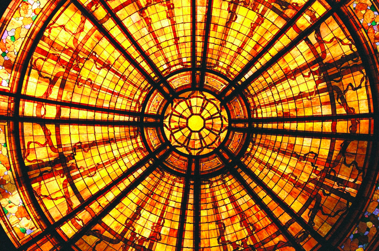 Stained Glass Dome, Main House, Skywalker Ranch (2003)