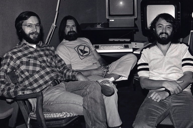 Ed Catmull, Alvy Ray Smith and Loren Carpenter (1982)