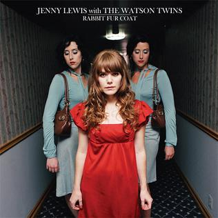 Jenny Lewis and the Watson Twins   Rabbit Fur Coat  (2006, Team Love)  Guitar