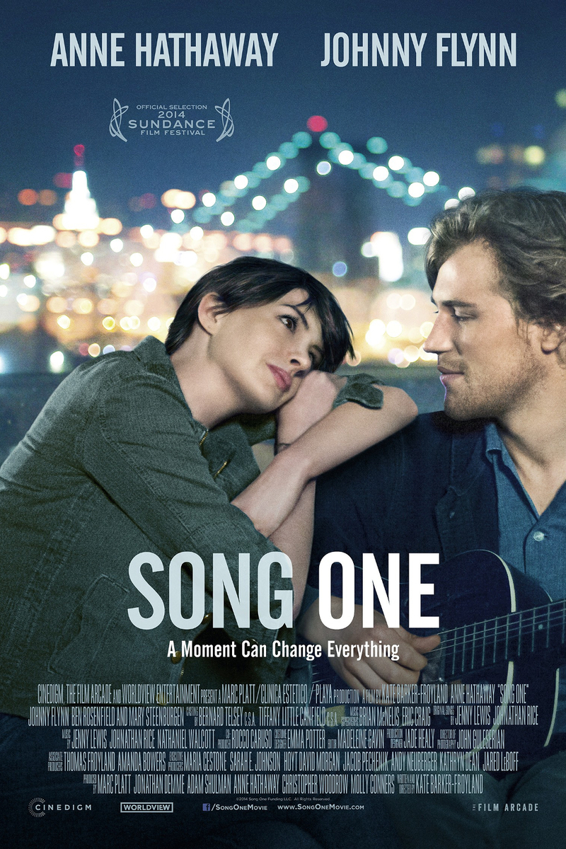 Song One  (2014 film ft. Anne Hathaway)  Mandolin on original score by Jenny Lewis & Johnathan Rice