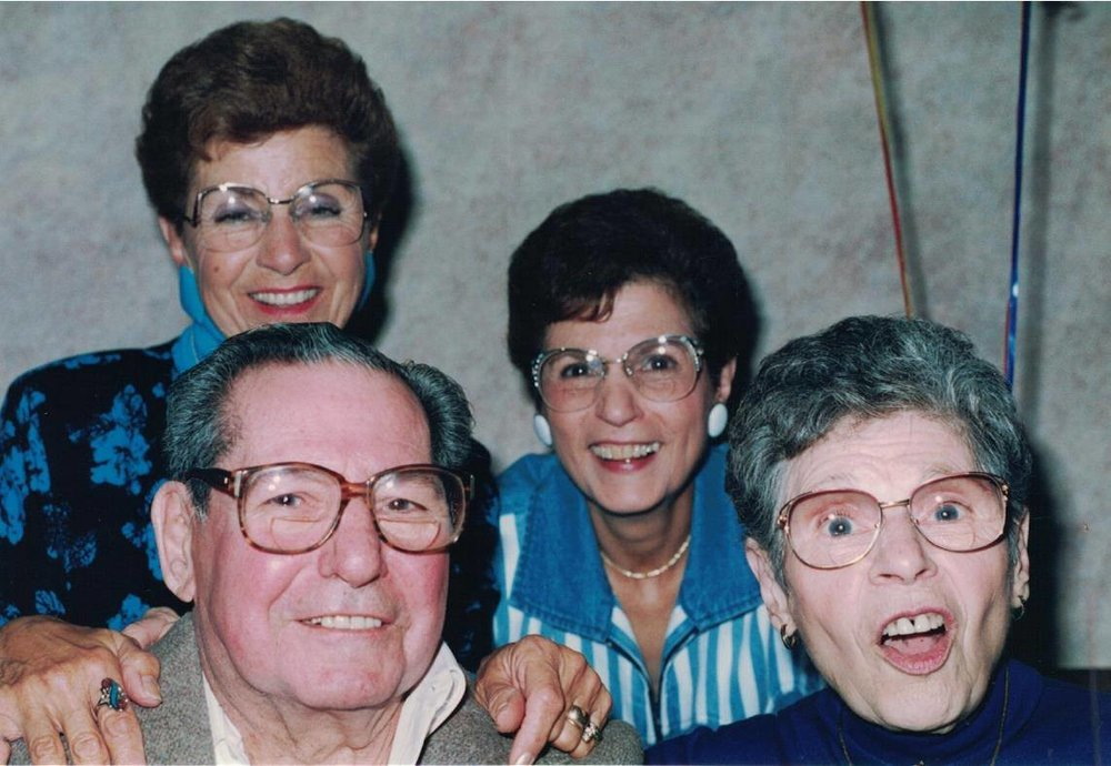 1993 - Grandpa's 80th with his sisters