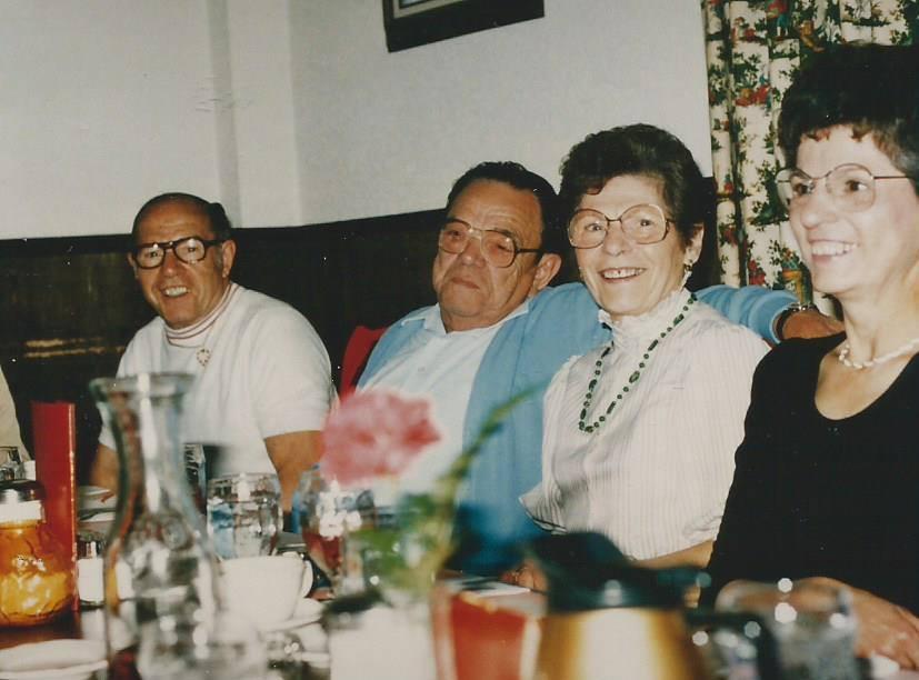 1985 Tony, Eric, Jen and Rose