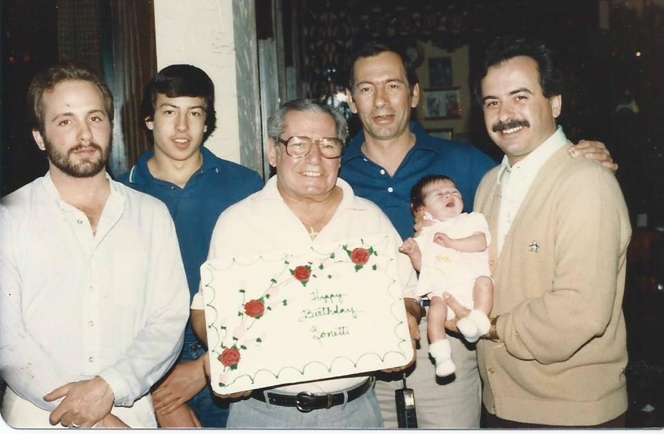 1982 The original April Birthday Gang