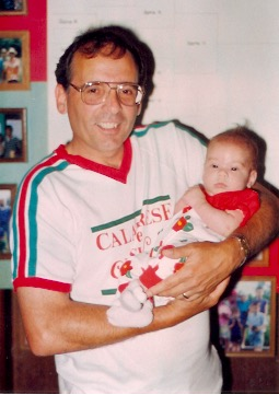 1991 - Gary with Granddaughter, Elena