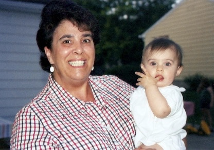 2003 - Aunt Coni with Cecelia