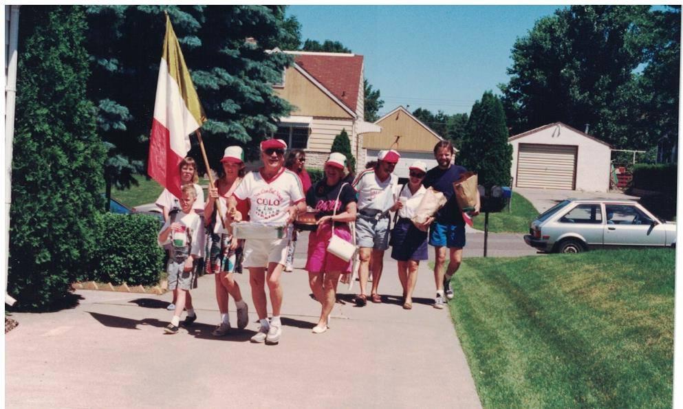 1991 - 11 am Barilla arrival