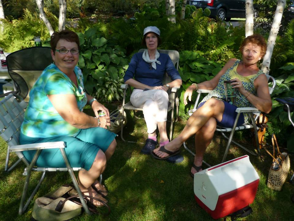 2014 - Kathy, Margie and Sharon