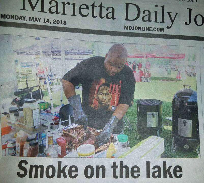Jonnybaby BBQ hit the stands on the front page!