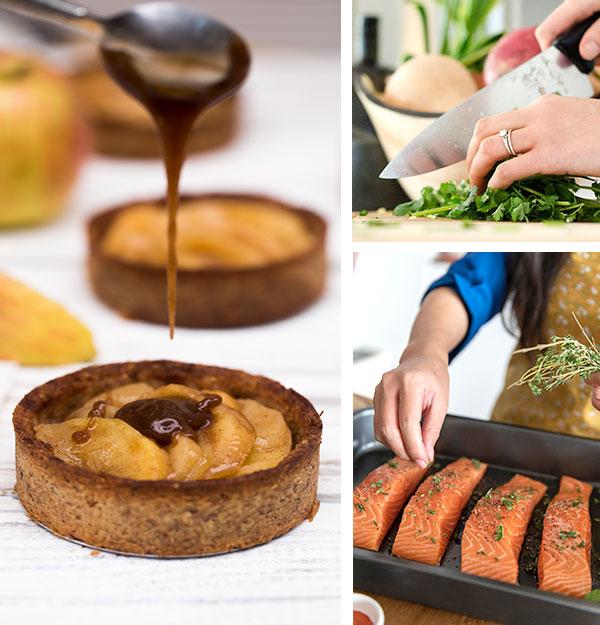 EVERYDAY FRESH - Nossos produtos chegam frescos todos os dias. Nós servimos cru, assado, grelhado ou no vapor. Nunca enlatados.
