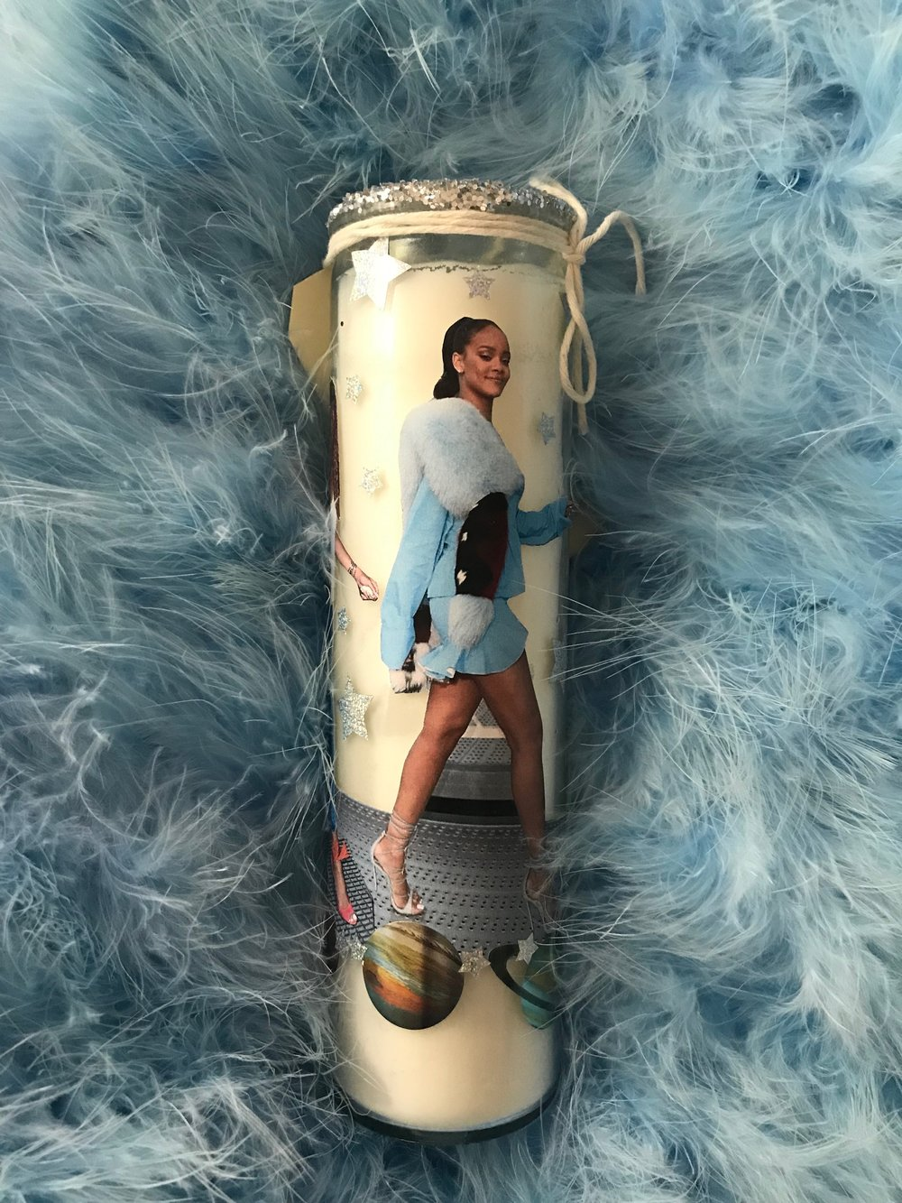 """SHOP THE RIHANNA """"ABOVE IT"""" CANDLE NOW"""